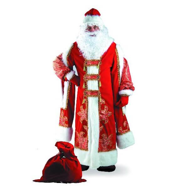 Костюм Деда Мороза Царский