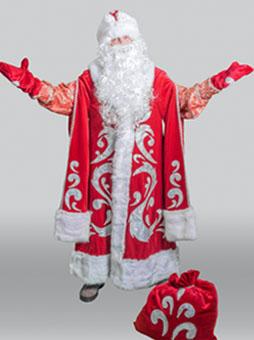 Костюм Деда Мороза Богатый