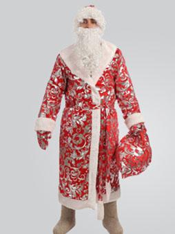 Блестящий костюм Деда Мороза в Самаре