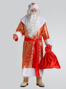Золотой Парчовый костюм Деда Мороза в Самаре