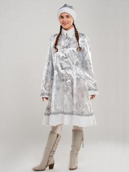 Белый костюм Снегурочки в Самаре