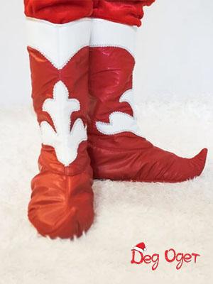 Красные сапоги Деда Мороза в Самаре