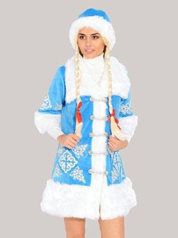 Костюм Снегурочки с вышивкой в Самаре