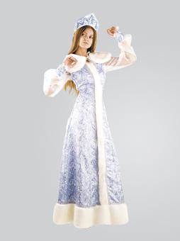 Шелковый костюм Снегурочки в Самаре