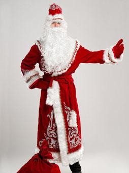 Костюм Деда Мороза в Самаре аппликация