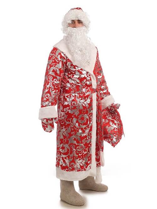 Дед Мороз в Блестящем костюме