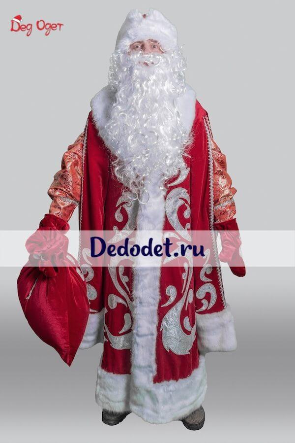 Дед Мороз в Богатом костюме