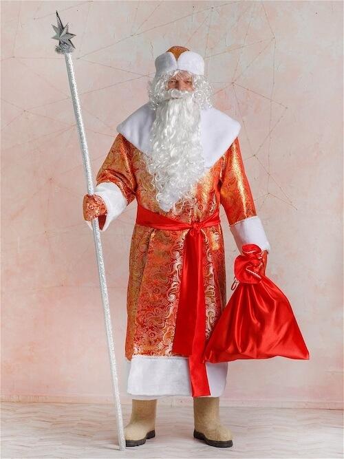 Дед Мороз в Золотом Парчовом костюме
