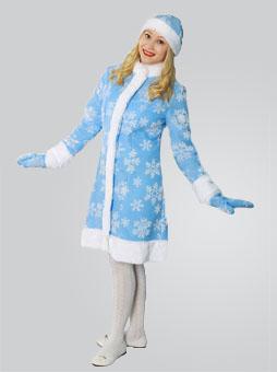 Меховой костюм Снегурочки в Самаре