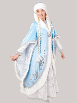 Богатый костюм Снегурочки в Самаре