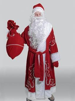 Традиционный костюм Деда Мороза в Самаре