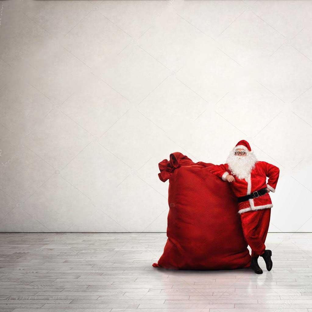 Огромный мешок для подарков
